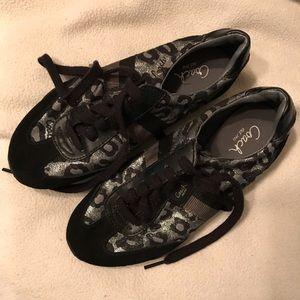 Coach Cheetah Shoes